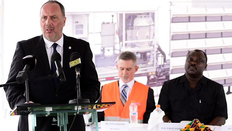 Tízmilliárdokat költ Magyarország egy ghánai erőműre