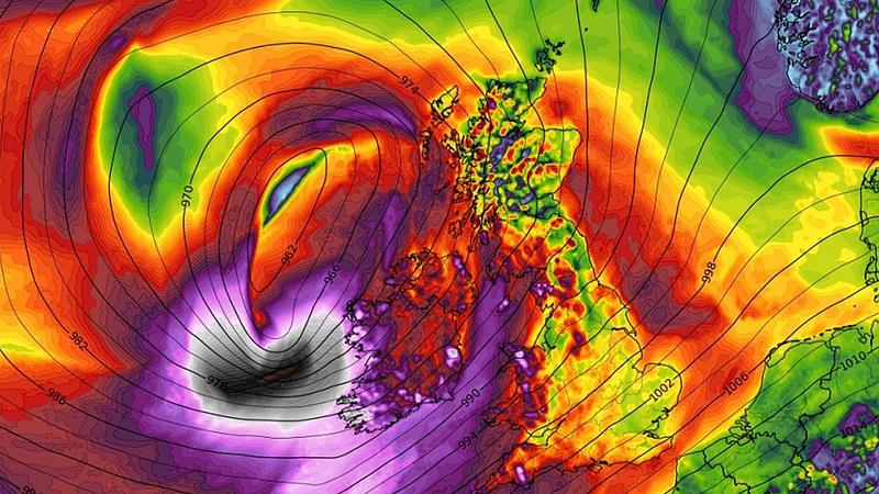 Akkora vihar éri el Európát, hogy már nevet is adtak neki