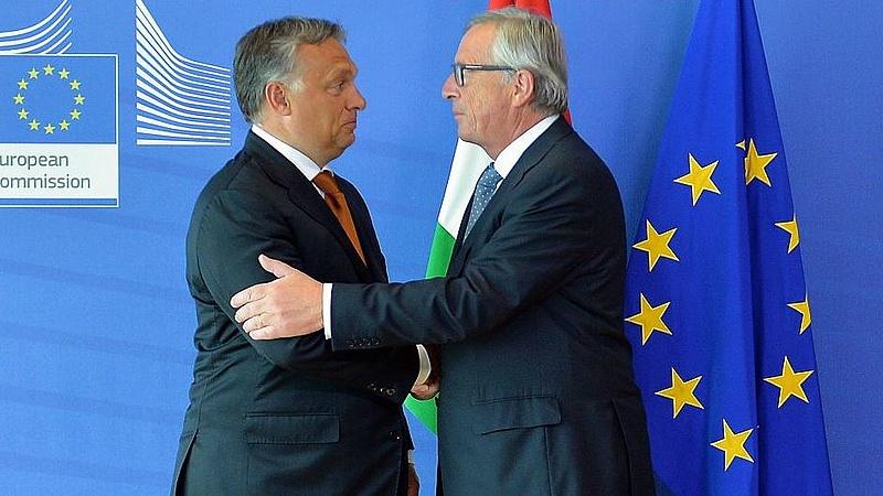 Juncker üzent Orbánnak - ezt senki sem várta
