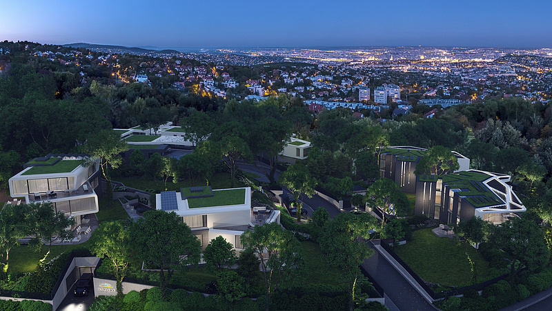 Skyline Residence - a valóban luxus lakópark