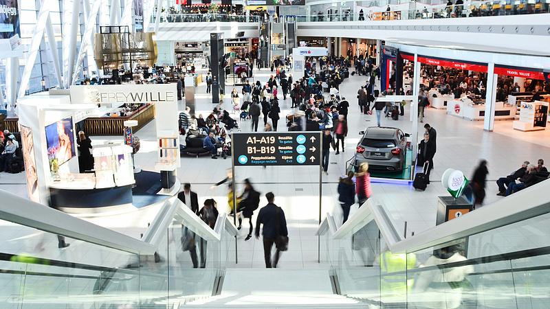 Fejcserék a Budapest Airportnál