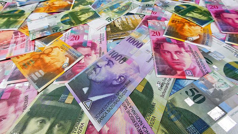 A svájci jegybank 15 ezer milliárd forint profitot termelt