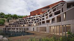 Ötcsillagos szálloda épül Tokaj-Csurgóvölgyben