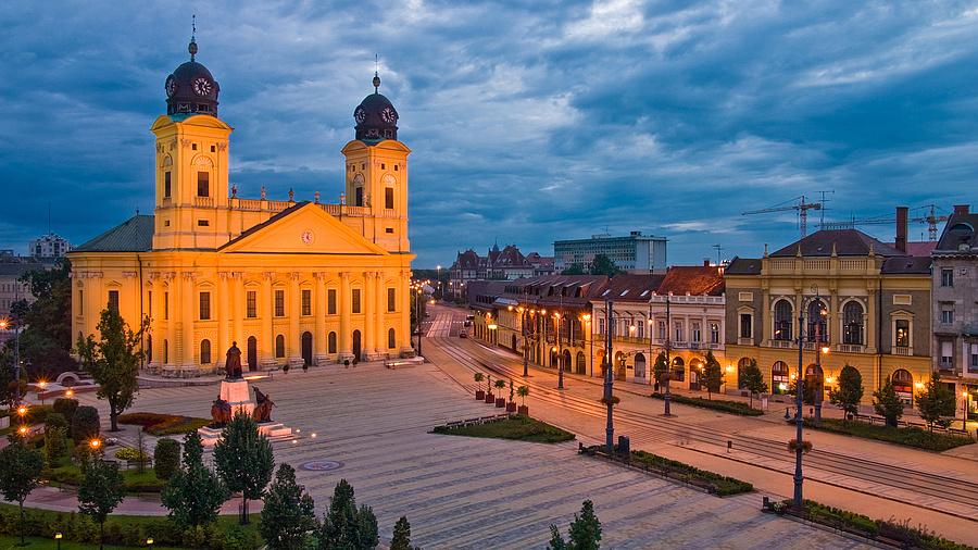 Debreceni városkép.