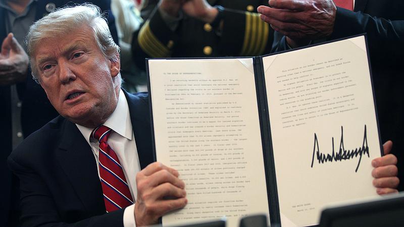 Trump úgy dícsérte az USA környezetvédelmi politikáját, mintha nem az egyik legszennyezőbb ország lennének