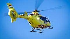 Három új helikoptert kaptak a mentők