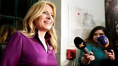 Beiktatták az első női államfőt Szlovákiában - íme, a tervei