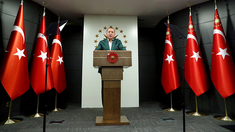 Már Erdogan is lazít