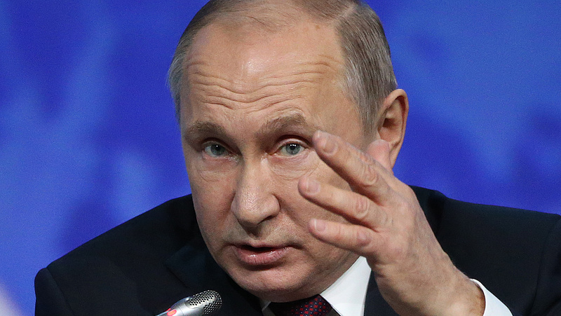 Nagyot esett Putyin népszerűsége Oroszországban