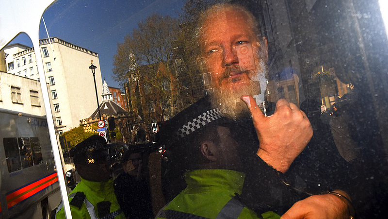 Az Egyesült Államokban elítélhetik Assange-ot