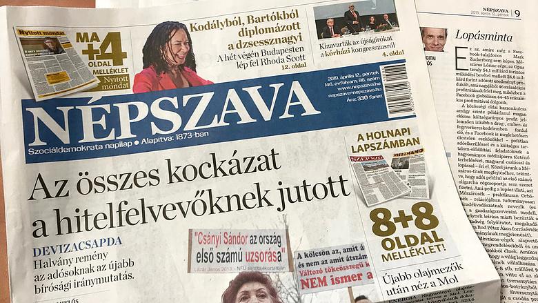 3c81f1eeed6e Új kézbe került a Népszava - Napi.hu
