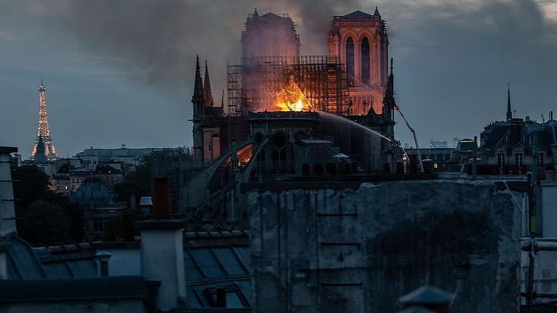 Megmenekült a leégett Notre Dame egyik kincse