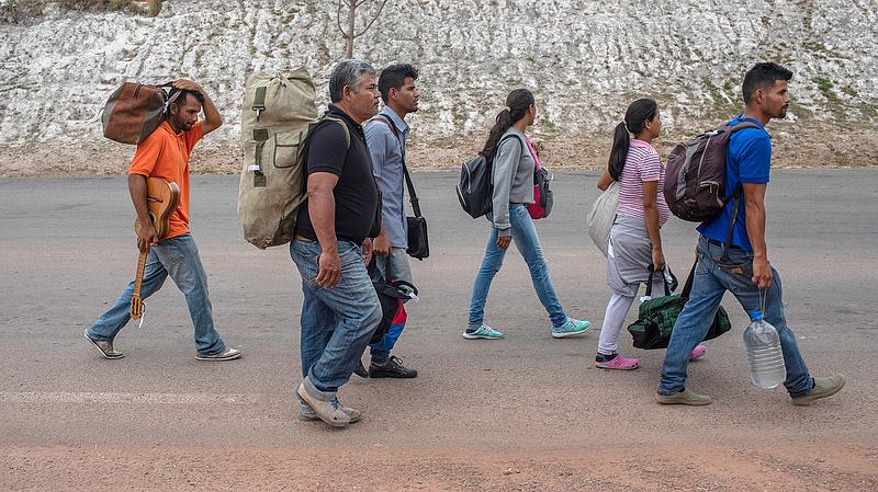 Tömegével jönnek a venezuelai menekültek Európába