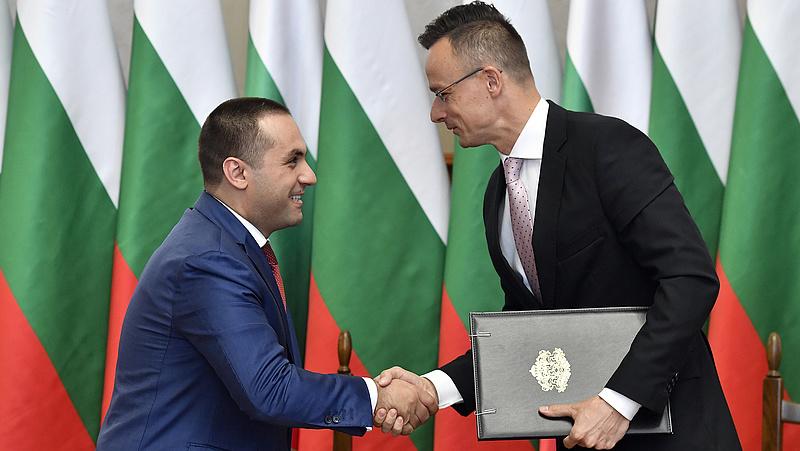 Szijjártó a gázbeszerzésről is tárgyalt a bolgárokkal