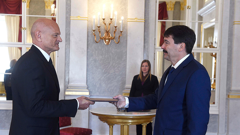Áder kinevezte az MNB új alelnökét