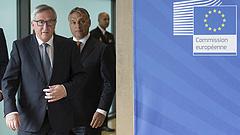 Juncker visszavág a magyar kormánynak a manipuláció miatt