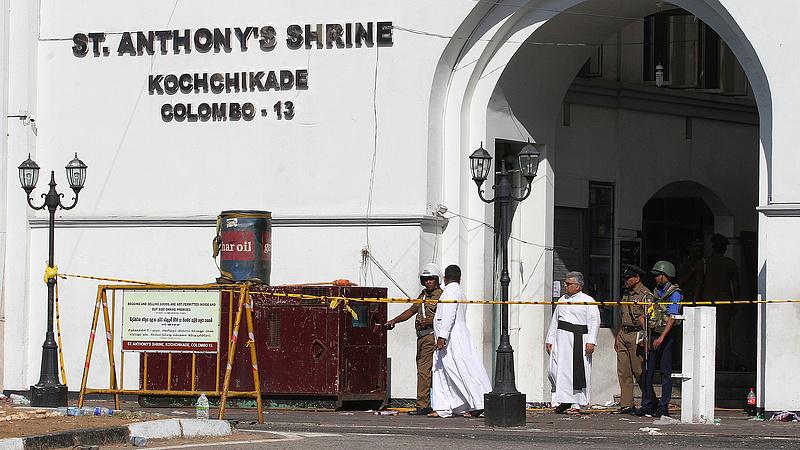 Iszlamista terrortámadás történt Srí Lankán