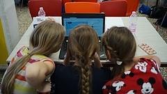 Egy nagy digitális kalandon csaphattak össze a kisiskolások