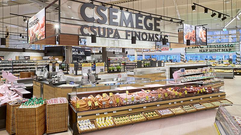 A Spar húsüzemet vett, tovább nő a saját márkás termékválaszték