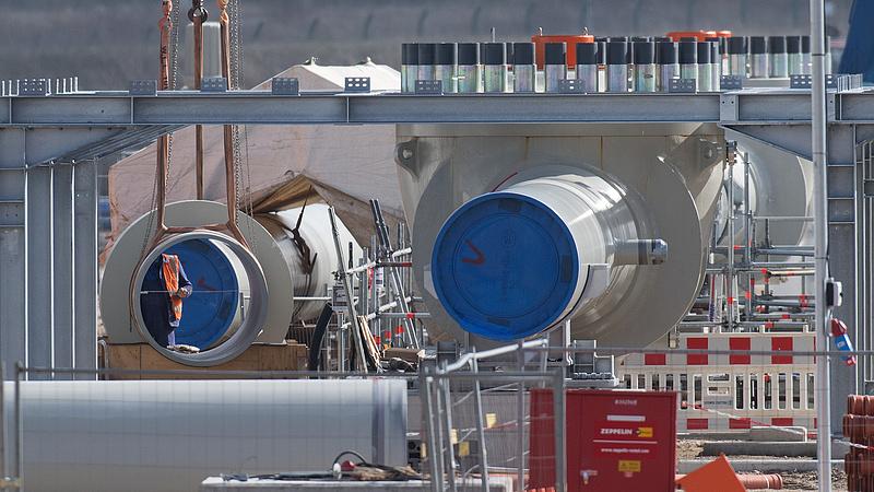 A Gazprom szerint már az idén 5,6 millió köbméter gázt szállíthat az Északi Áramlat-2