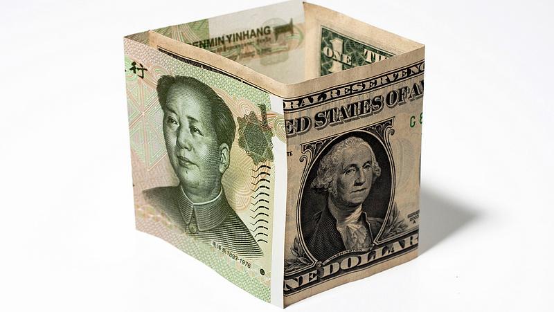 Kína egyre kevesebb amerikai állampapírt tart