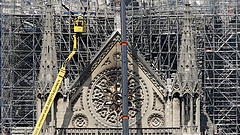 A hőség veszélyezteti a Notre-Dame boltozatát