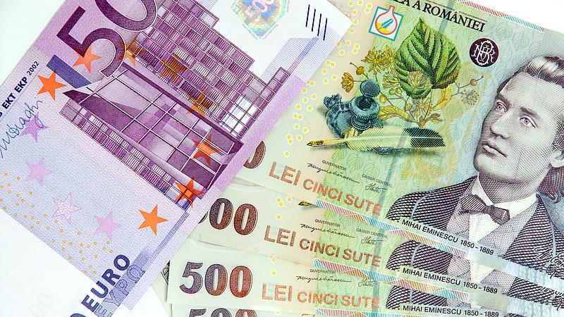 Bebetonozzák a román eurót