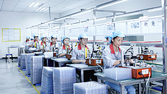 Visszaesőben a kínai feldolgozóipar