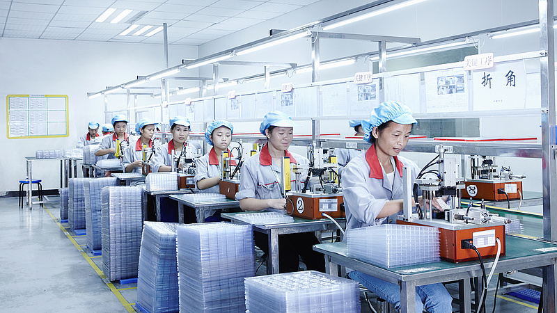 Vergődik a kínai ipar