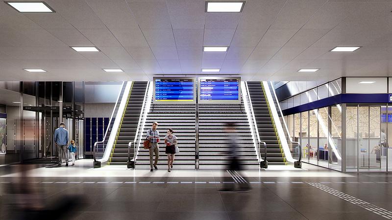 Nem működnek a Keleti pályaudvar jegypénztárai
