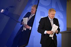 Boris Johnson ma sem beszélt arról, hogyan vágná át a gordiuszi csomót