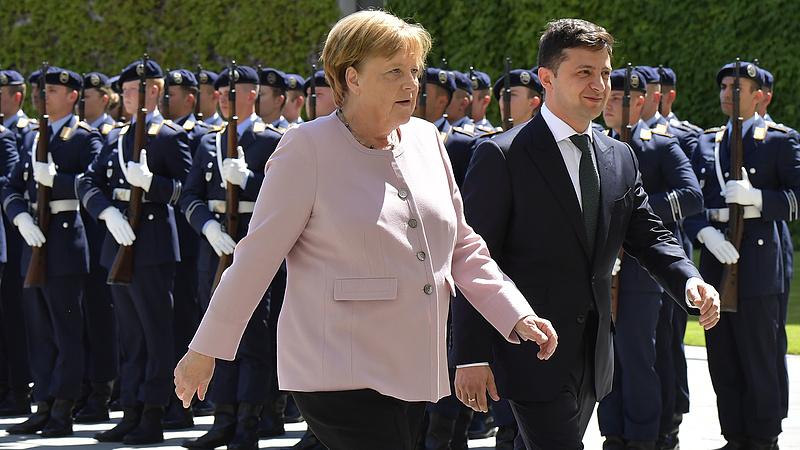 Rosszul lett Merkel