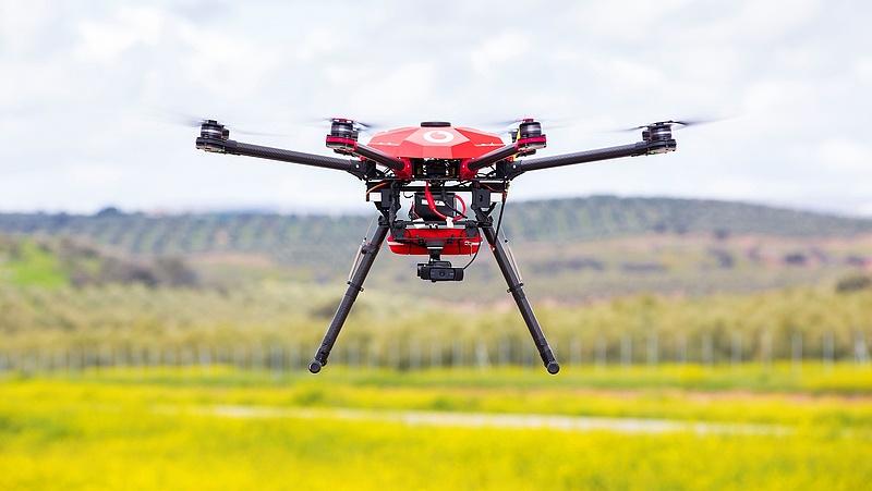 Drónokkal kísérletezett a Vodafone és az Ericsson