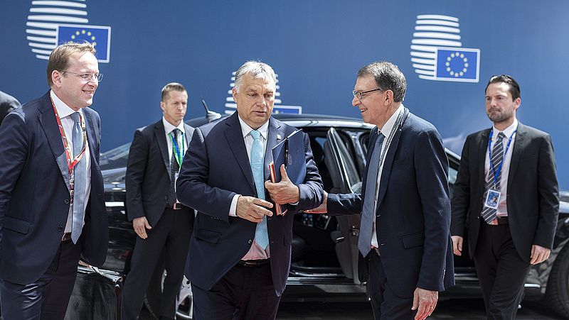 Orbán Viktor megérkezett a sorsdöntő brüsszeli csúcsra