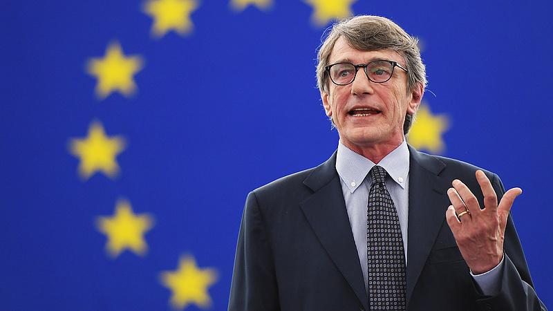 David Sassoli az EP új elnöke