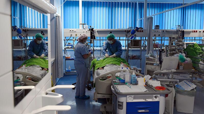 Jó hír: felújították a kardiológiai intézet intenzív részlegét
