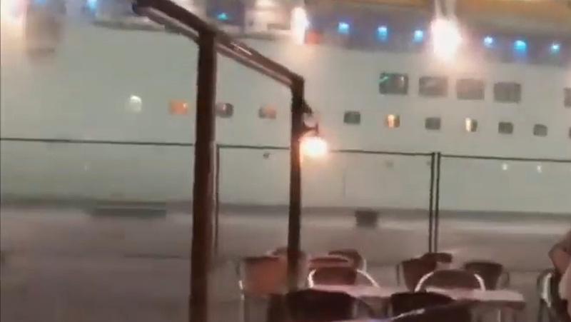 Kevésen múlt a hajóbaleset Velencénél
