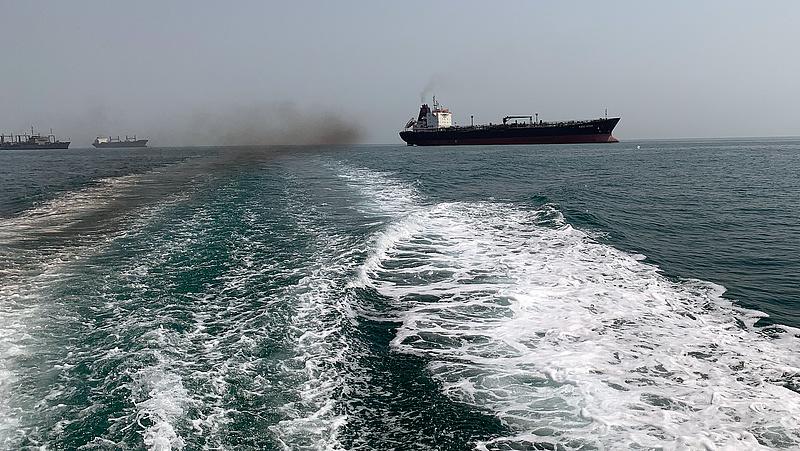 A britek szerint nem hajózott a tankerük iráni vizeken