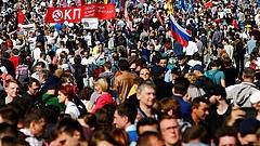 Hatalmas tömegtüntetés volt Putyin rendszere ellen