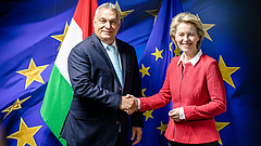 Orbán-von der Leyen találkozó: megszólalt a magyar miniszterelnök