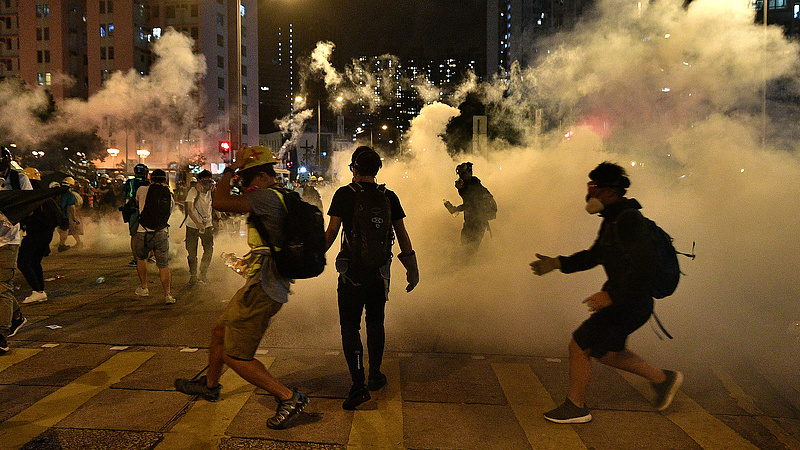 Egyre feszültebb a helyzet Hongkongban