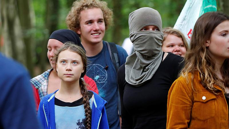 Greta Thunberg pihenőt tart