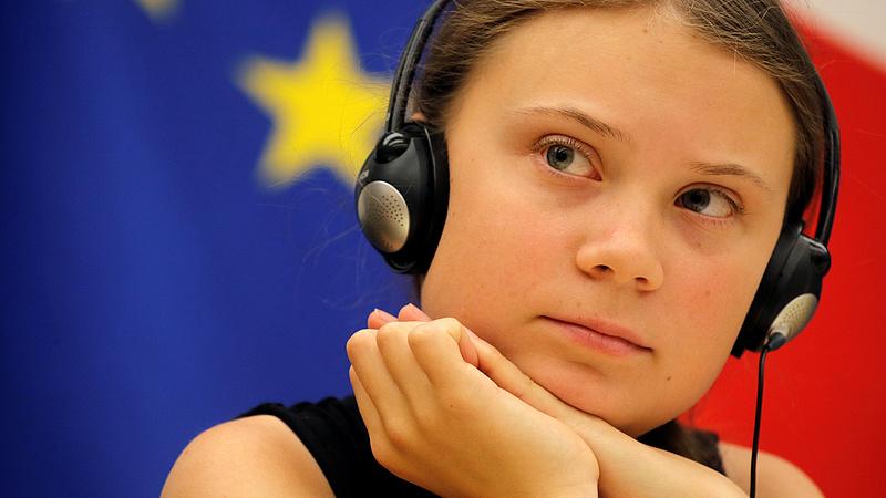 Ez volt Greta Thunberg nagy napja