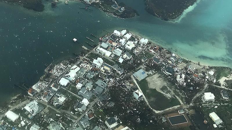 A Bahamákat letarolta Dorian, de Florida megúszhatja