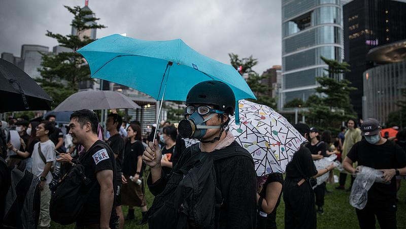 Kapott egy pofont Hongkong