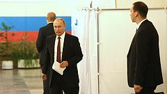 Az oroszok harmadik napja szavaznak, 45 százalékos a részvétel