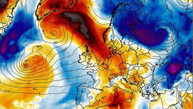 Időjárási fordulatot hozhat a melegadvekció