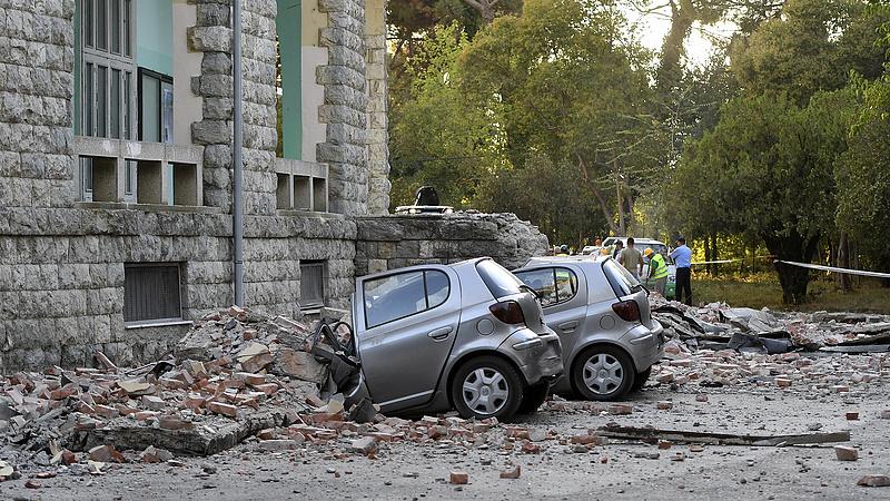 Súlyos földrengés volt Albániában