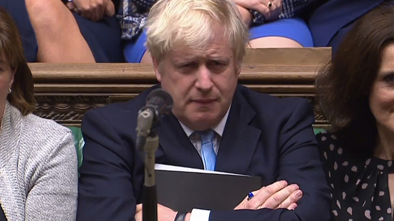 Brexitszavazás: nem jött be Johnson terve, jöhet a halasztás