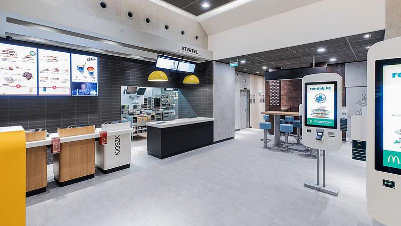 Koncepciót vált a magyar McDonald's